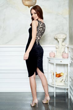 Rochie Fofy Attractive Shape Black