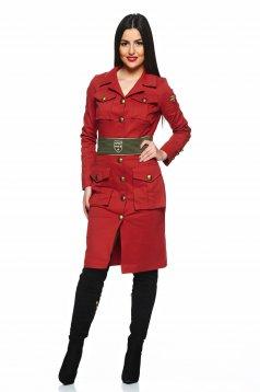 Rochie PrettyGirl Soldier Brown