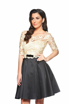 Rochie StarShinerS Imperial Lace Black