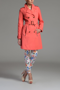 Trench Top Secret SPZ0232RO Coral
