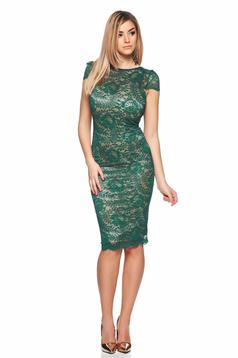 Rochie Fofy Mirific Illusion Green