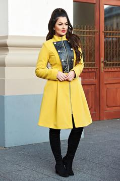 Palton LaDonna Military Lady Yellow