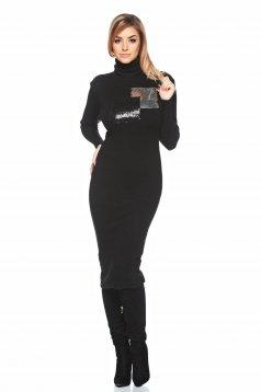 Rochie PrettyGirl Sparkling Reveal Black