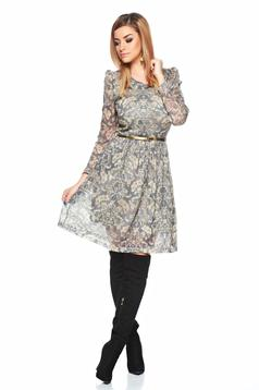 Rochie PrettyGirl Feeling Good Grey