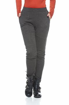 Pantaloni PrettyGirl Simple Motivation Grey