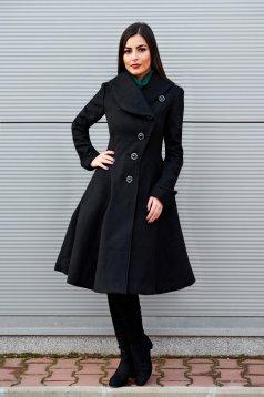 Palton Artista Cold Season Black
