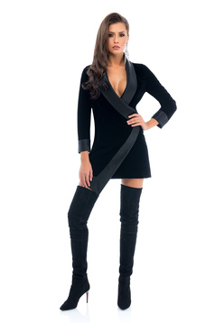 Rochie Ana Radu Magical Dream Black