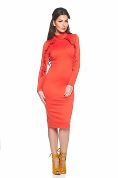 Rochie StarShinerS Vogue Celebrity Coral