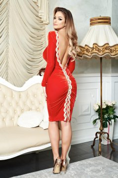 Rochie Fofy Lovely Sensation Red