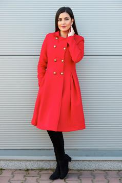 Palton PrettyGirl Military Style Red
