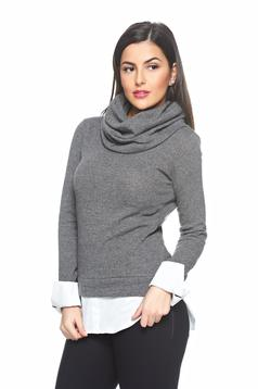 Pulover PrettyGirl Casual Perfection Grey