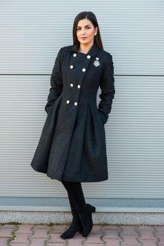 Palton PrettyGirl Military Style DarkGrey