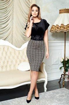 Rochie LaDonna Brilliance Style Black