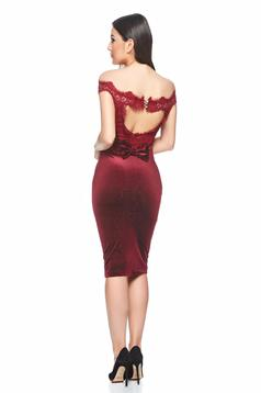 Rochie Fofy Exclusivity Burgundy
