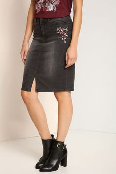Fusta Top Secret S025891 DarkGrey
