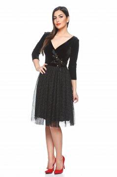 Rochie LaDonna Gorgeous Ocassion Black