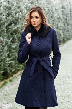 Palton Artista Winter Style DarkBlue