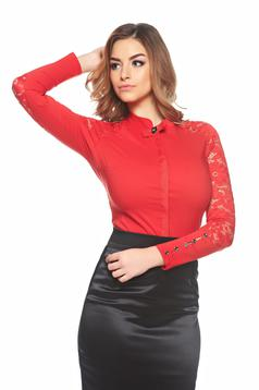 Body Fofy Elegant Women Red