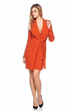 Rochie PrettyGirl Lovely Design Orange