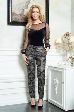 Pantaloni LaDonna Party Enchantment Gold