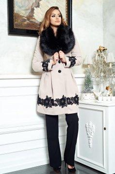 Palton LaDonna Victorian Romance Cream