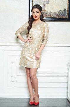 Rochie LaDonna Perfect Sparkle Gold