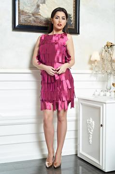 Rochie PrettyGirl Fashion Love Fuchsia