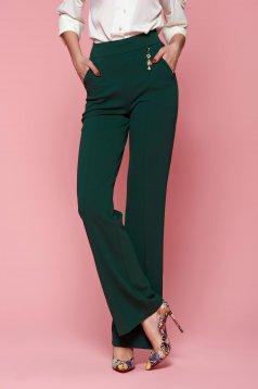 Pantaloni Fofy Classy Fame Green