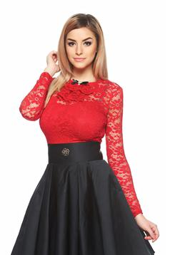 Body Fofy Laced Fantasy Red