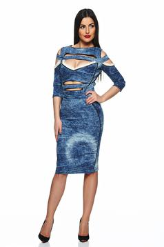Rochie Ocassion Surprising Time Blue