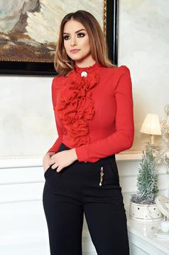 Body Fofy Office Frills Red