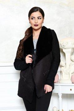 Cardigan Warm Style Black