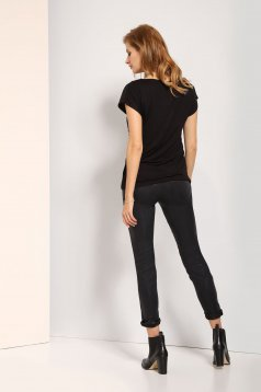 Tricou Top Secret SBW0319CA Black