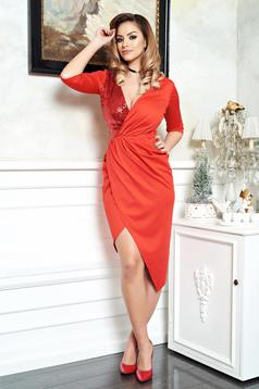 Rochie Artista Vibrating Moment Red