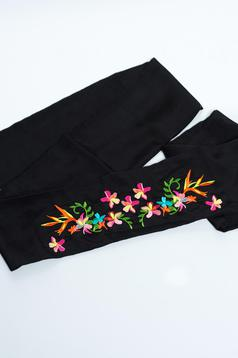 Curea StarShinerS Embroidered Black