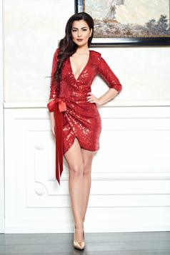 Rochie Artista Flirty Night Red
