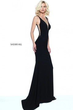 Rochie Sherri Hill 50940 Black