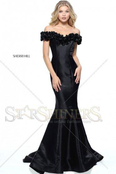 Rochie Sherri Hill 51103 Black