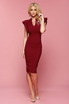 Rochie Fofy Gallant Choice Burgundy