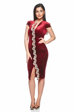 Rochie Fofy Perfect Simphony Burgundy