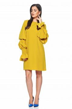 Rochie Ana Radu Fancy Party Yellow