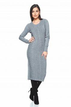 Rochie Winter Elegancy Grey