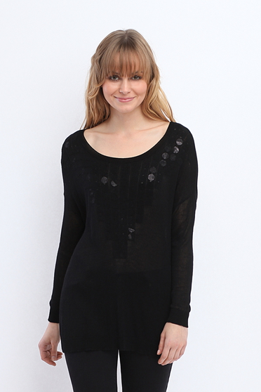 Pulover Top Secret S026497 Black