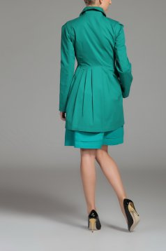 Palton Top Secret S026543 Green