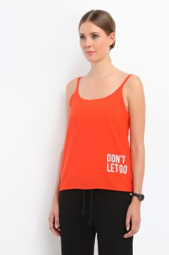 Bluza Top Secret S026655 Orange
