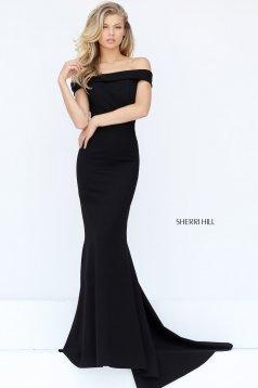 Rochie Sherri Hill 50824 Black