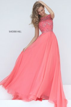 Rochie Sherri Hill 50849 Coral