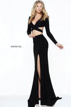 Rochie Sherri Hill 50920 Black