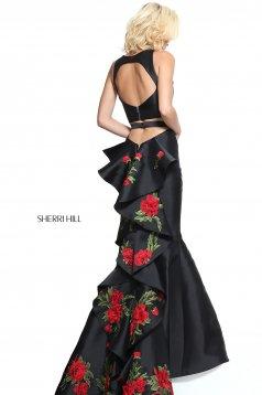 Rochie Sherri Hill 51027 Black