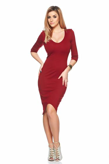 poze cu Rochie StarShinerS Flame Desire Burgundy